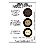 Desco 13853 Humidity Indicator Cards [Cobalt-Free, 30-40-50% (125pk)]