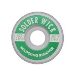 Aven 17541 2mm Wide Desolder Braid Spool (1.5m L)