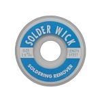 Aven 17542 2.5mm Wide Desolder Braid Spool (1.5m L)