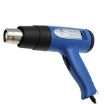 Aven 17601 Heat Gun W/ Adjustable Temperature Control (Two-Stage Airflow, 122-932°F)