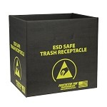 Protektive Pak 37811 Static Dissipative Trash Receptacle - Box Only (13-1/2