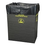 Protektive Pak 37821 Static Dissipative Trash Receptacle Liners (22