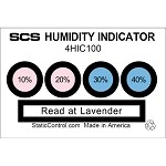 SCS Humidity Indicator Cards (HIC's) #4HIC100