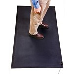 SCS Anti-Fatigue Mats (Premium Performance) Mat 3ft. x 5ft. with one installed snap and one 15ft. ground cord