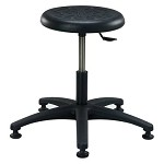 Brewer Plus PR-1 Round Polyurethane Stool (Height Adjustment - 16.5