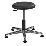 Brewer PRM-1 Round Polyurethane Stool (Height Adjustment - 15
