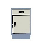 Hatfield C1-6-SDR Economy Series Cabinet (Swing Door Right, One 6