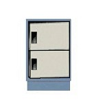 Hatfield C2-SDR Economy Series Cabinet (Two Right Swing Doors - Two 12