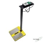 Static Solutions OHM-STAT Wrist Strap/Heel Ground Tester w/Sofware & Barcode Or Magstrip Reader
