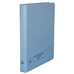 Desco 07430 ESD-Safe 3-Ring Binder (W/ Clear Pocket, 1/2