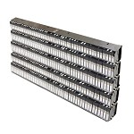 Component Storage Innovations EZSMD-DSL5 Dual Stacked Library (Holds Up To 250 Dispenser Cassettes - Five, Two Side-By-Side Racks Stacked)