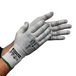 Transforming Technologies GL2500 Series ESD Cut-Resistant Gloves (Un-Coated, XS - 2XL)