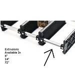 Fancort KAV- Optional Adjustable Storage Rack Extrusions