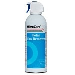 MicroCare MCC-PFR10A Polar Flux Cleaner (10 oz. Aerosol, 12 Cans/Case)