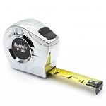 Lufkin P2133 P2000 Series Chrome Case Tape Measure (1