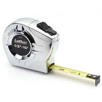 Lufkin P2210 P2000 Series Chrome Case Tape Measure (1/2