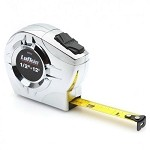 Lufkin P2212 P2000 Series Chrome Case Tape Measure (1/2