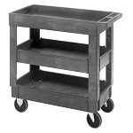 Quantum PC3518-33-3 (3-Shelf) Polymer Cart