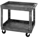 Quantum PC4026-33 (2-Shelf) Polymer Cart