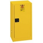 Lyon 74-R5474 Flammable Liquid Storage Cabinet (15-Gallon, 23-1/4