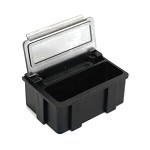 Transforming Technologies SM0881 Static-Safe SMD Storage Box w/ Transparent Lid 1-29/64