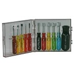 Xcelite PS130 Mini Screwdriver & Nut Driver Set (Inch Sizes, 11-Piece)