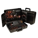 Xcelite TCMB100ST 86-Piece Electronics Service Kit (43 Screwdrivers, 22 Nut Drivers, 7 Pliers/Cutters and 14 other Tools)